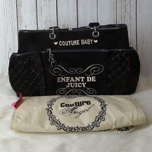 Juicy couture diaper bag ENFANT DE JUICY